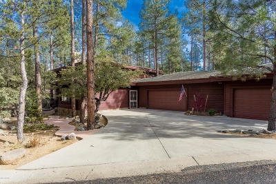 Prescott AZ Single Family Home For Sale: $980,000
