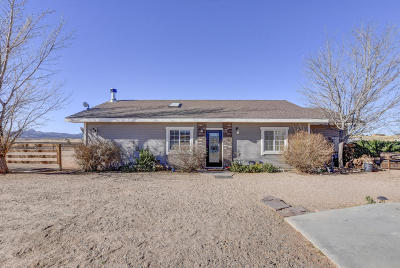 Paulden Single Family Home For Sale: 25600 N Feather Mountain Road