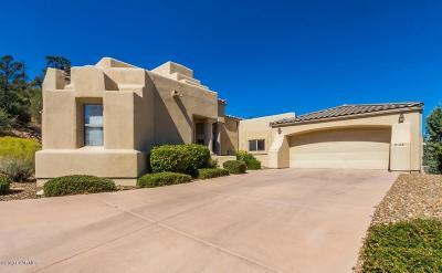 Prescott Single Family Home For Sale: 2128 Santa Fe Springs