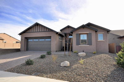 Prescott Single Family Home For Sale: 3269 Cliff Edge
