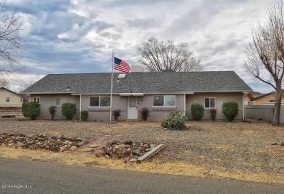 Prescott Valley Single Family Home For Sale: 5536 N Wickiup Road
