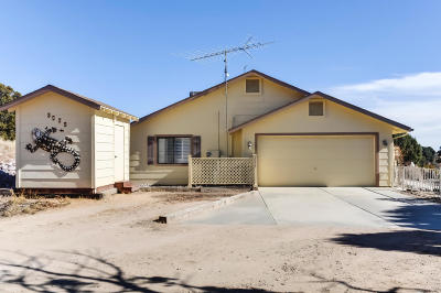Chino Valley Single Family Home For Sale: 3535 N Mesa Shadows Road