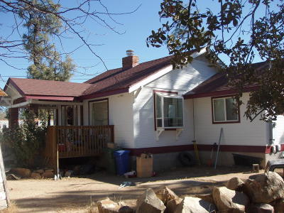 Prescott Single Family Home For Sale: 1621 Idylwild Road