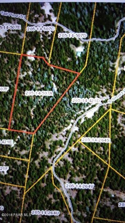 Prescott Residential Lots & Land For Sale: 0xxx E Tall Pine Trail