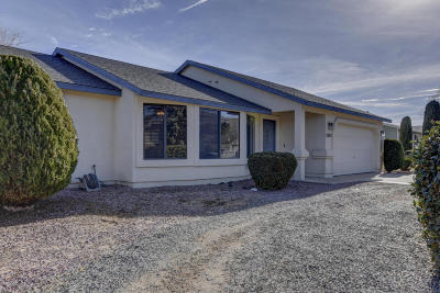 Prescott Valley AZ Single Family Home For Sale: $227,000
