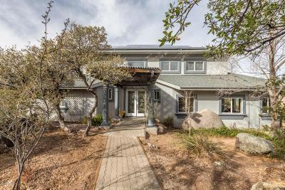 Prescott Single Family Home For Sale: 1930 N Echo Cliffs Drive