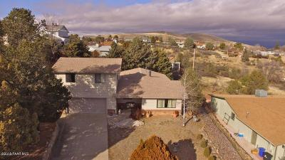 Prescott Single Family Home For Sale: 5030 Cactus Place