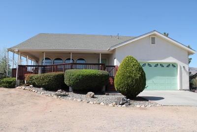 Prescott Single Family Home For Sale: 8100 N Red Oak Road