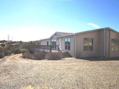 Dewey-humboldt Mobile/Manufactured For Sale: 12030 E Deer Path Road