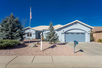 Prescott Single Family Home For Sale: 5654 Hole In One Drive