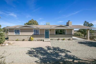 Prescott Single Family Home For Sale: 2530 W Noble Vista Drive