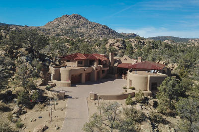 Prescott AZ Single Family Home For Sale: $1,575,000