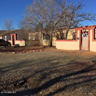 Prescott Valley Multi Family Home For Sale: 3160 N Corrine Drive