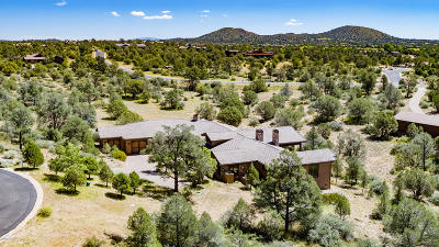Prescott AZ Single Family Home For Sale: $995,000