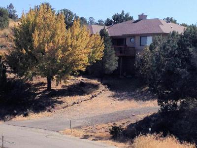 Prescott Single Family Home For Sale: 1815 Buena Vista Trail