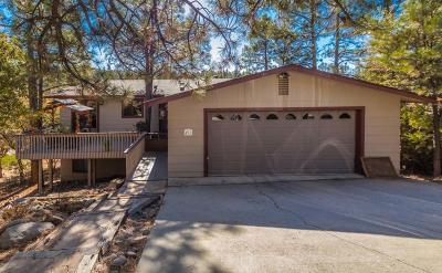 Yavapai County Single Family Home For Sale: 491 Turtleback Road