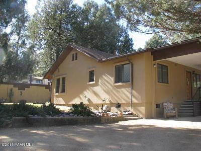 Prescott Single Family Home For Sale: 904 Copper Basin Road