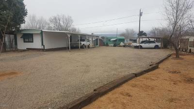 Yavapai County Mobile/Manufactured For Sale: 4481 N Parent Road