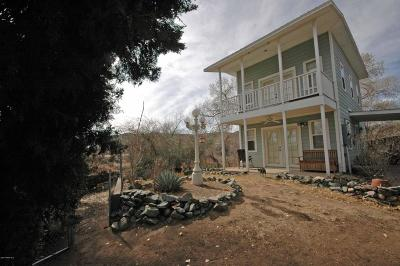 Yavapai County Single Family Home For Sale: 12383 E Central Avenue