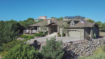 Prescott AZ Single Family Home For Sale: $629,900