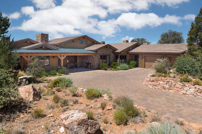 Prescott AZ Single Family Home For Sale: $1,425,000