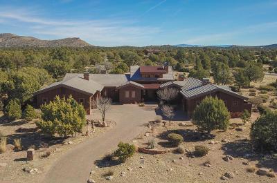 Chino Valley, Prescott, Prescott Valley Single Family Home For Sale: 15535 N Hatfield Drive