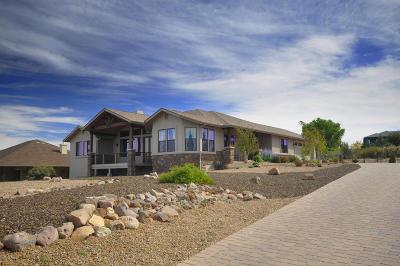 Prescott Single Family Home For Sale: 1195 Longview Drive