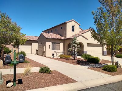 Prescott Valley Single Family Home For Sale: 7596 E Bravo Lane