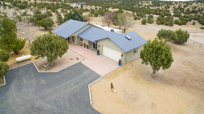Prescott Single Family Home For Sale: 6500 W Rambling Road