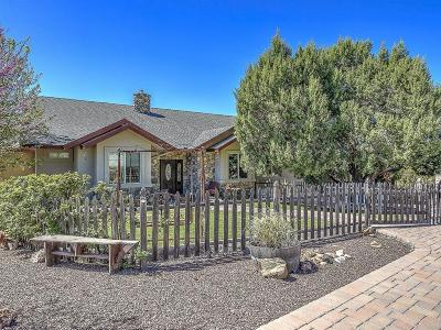 Prescott, Prescott Valley, Dewey-humboldt, Chino Valley Single Family Home For Sale: 5755 W Rambling Road