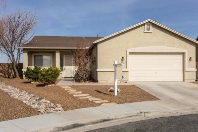 Prescott Valley Single Family Home For Sale: 4860 N Edgemont Road