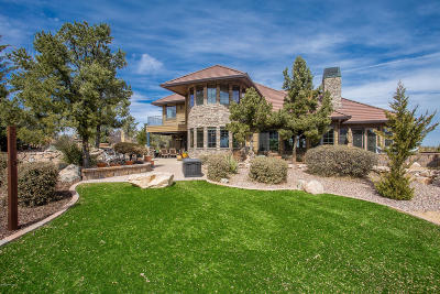 Prescott AZ Single Family Home For Sale: $999,900