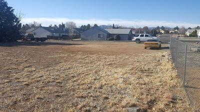 Prescott, Prescott Valley, Chino Valley, Dewey-humboldt Residential Lots & Land For Sale: 7400 E Spouse Drive