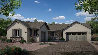 Prescott Single Family Home For Sale: 1121 Sunrise Boulevard