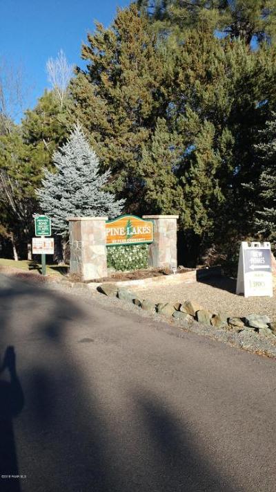 Prescott, Prescott Valley, Chino Valley, Dewey-humboldt Mobile/Manufactured For Sale: 225 Midway