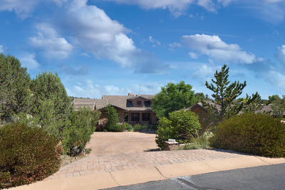 Prescott AZ Single Family Home For Sale: $1,050,000