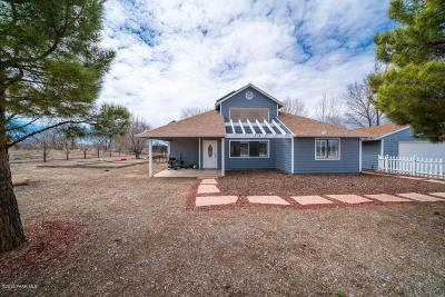 Chino Valley AZ Single Family Home For Sale: $315,000