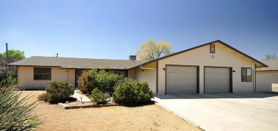 Prescott Valley Single Family Home For Sale: 3600 N Pleasant View Drive