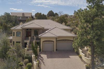 Prescott Single Family Home For Sale: 1405 Sierry Peaks Drive