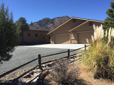 Prescott AZ Single Family Home For Sale: $999,000