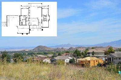 Prescott AZ Single Family Home For Sale: $574,378