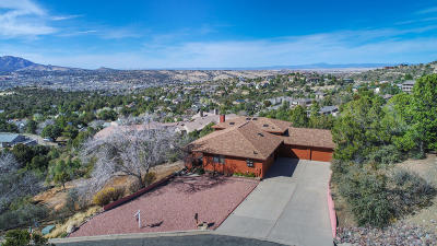 Prescott Single Family Home For Sale: 875 Devereaux Drive