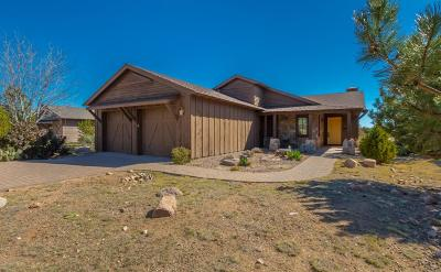 Prescott Single Family Home For Sale: 15195 Clubhouse View Lane