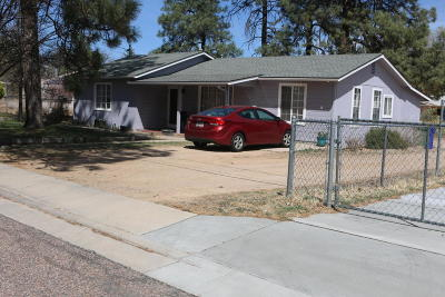 Prescott Single Family Home For Sale: 813 A Dougherty Street