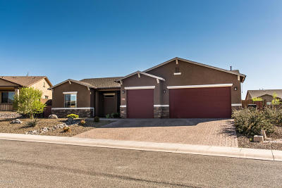 Viewpoint (Prescott Valley) Single Family Home For Sale: 7177 E Sage Butte