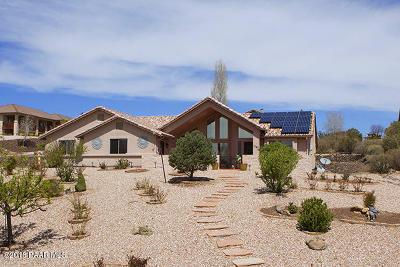 Prescott Single Family Home For Sale: 5785 Symphony Drive