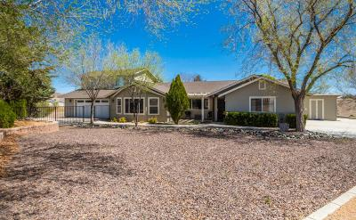 Chino Valley Single Family Home For Sale: 3887 N Reed Road