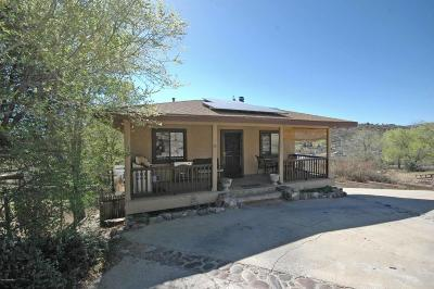 Prescott Single Family Home For Sale: 5136 E Ramada Drive