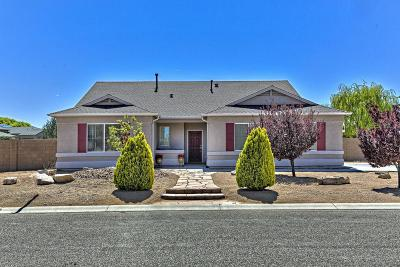 Prescott Valley Single Family Home For Sale: 7729 E Day Break Circle