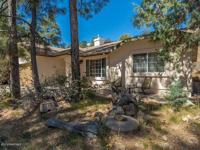 Prescott Single Family Home For Sale: 860 S Rancho Vista Drive